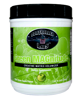 Green MAGnitude Supplement - Creatine Matrix Volumizer